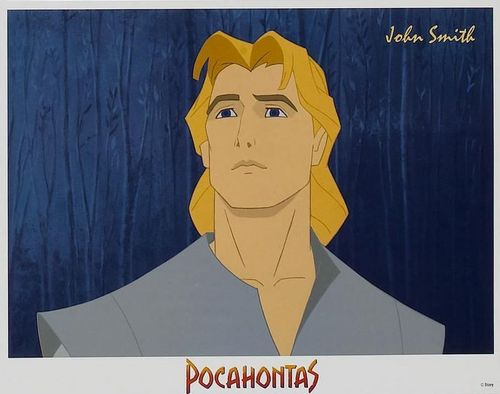 Leading men of disney wallpaper titled John Smith