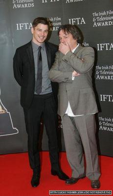 Josh At Irish Film & TV Festival <3