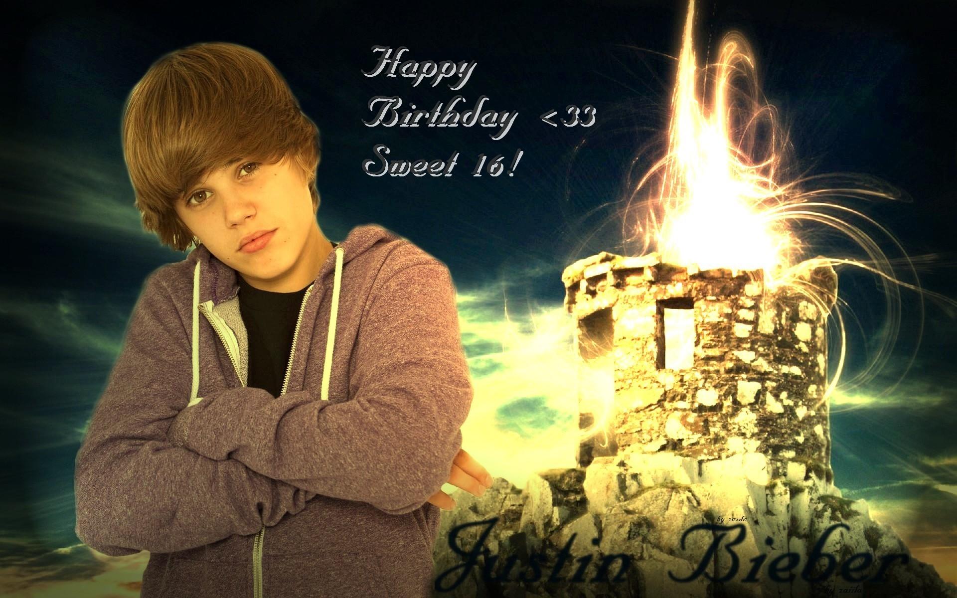 Justin Bieber Justin Bieber, Birthday!