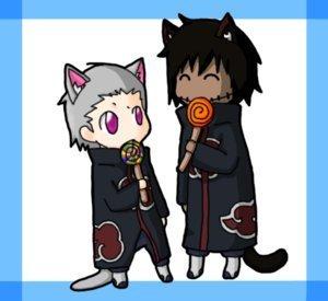 Kakuzu and Hidan Lollipop