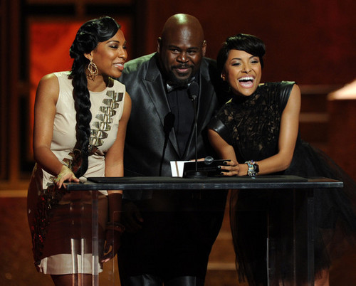 Katerina Presents at 41st Annual NAACP Image Awards