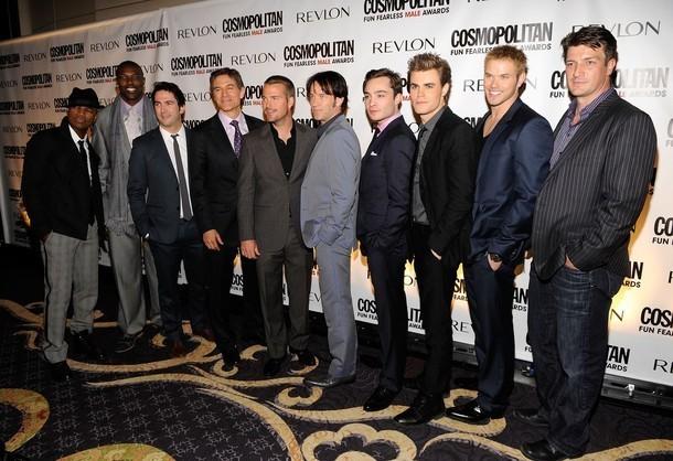 Kellan Lutz At Cosmopolitan Magazine's Fun Fearless Men