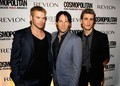 Kellan Lutz At Cosmopolitan Magazine's Fun Fearless Men - twilight-series photo