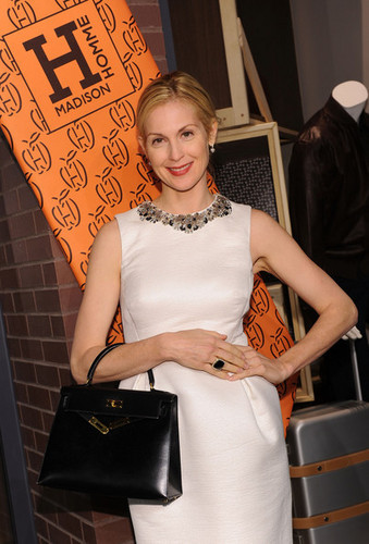 Kelly Rutherford - Opening first Hermes Men Store