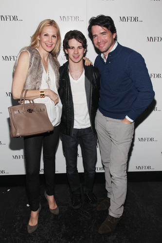 Kelly Rutherford with Connor Paolo & Connor Paolo & Matthew Settle