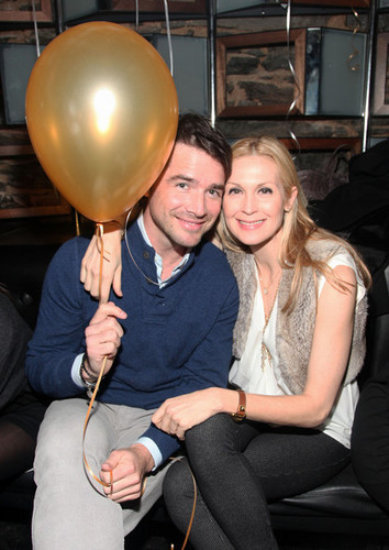 Kelly Rutherford with Matthew Settle