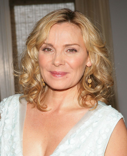 Kim Cattrall karatasi la kupamba ukuta entitled Kim The Magnificent 3