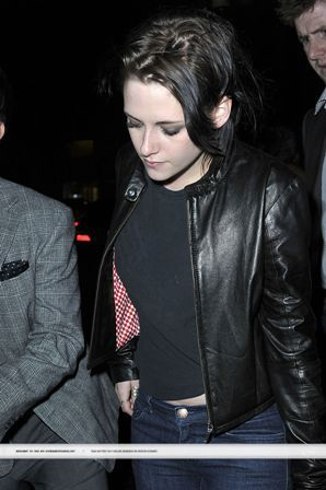 "Kristen Leaving ""REMEMBER ME"" After Party"