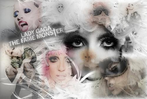 Lady Gaga پیپر وال called LG