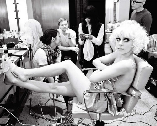 Lady GaGa foto Shoots door Ellen Von Unwerth For V Magazine #64