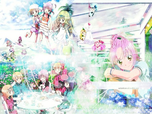 Shugo Chara پیپر وال titled Let's Happy with Shugo Chara !