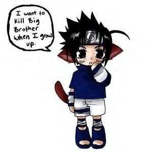 Little sasuke's dream XD