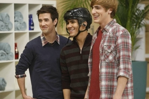 Logan, Kendall, and Carlos