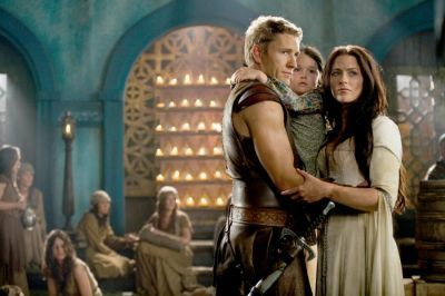 Kahlan, Another Seeker and Their daughter?! Nooo!