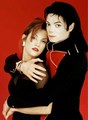 MJ and Lisa Marie :) - michael-jackson photo