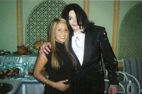 MJ and friend: Indian Restaurant