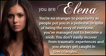 MY TVD character teste result...