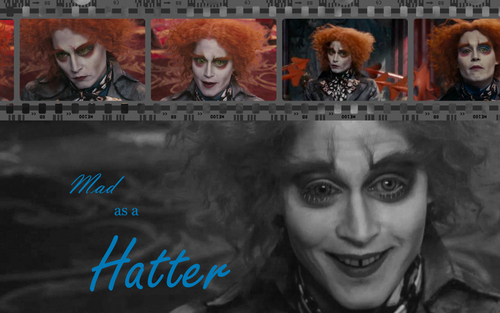 Mad Hatter wallpaper - Mad as a Hatter Filmstrip