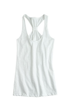 Maribelle Knot Racerback Tank - teen-fashion Photo