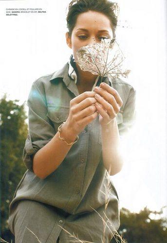 Marion Cotillard | L'Officiel Magazine Scans