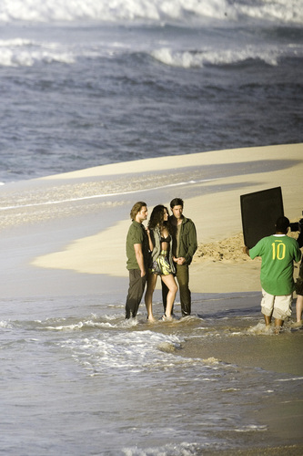 Matt,Evie and Josh Vanity Fair photoshoot
