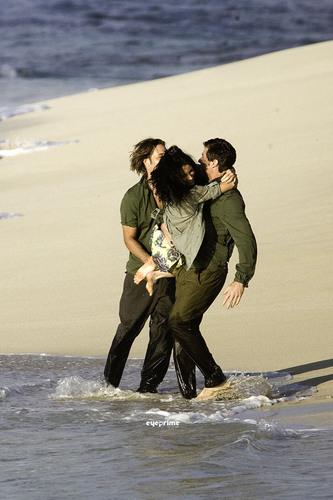 Matt,Evie and Josh Vanity Fair photoshoot