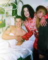Michael Visiting Sick Fan  - michael-jackson photo