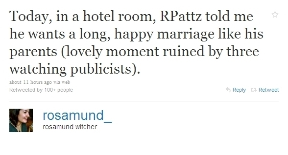 meer Tweets About The Remember Me Press Junket with Robert Pattinson