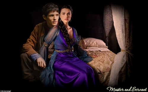 does merlin and morgana relationship