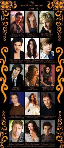 My Mortal Instruments Cast