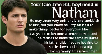 My OTH boyfriend Quiz results