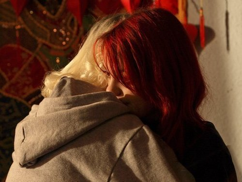 Naomily 4x04 Behind the scenes