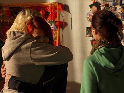 Naomily Hug 4x04 Behind the scenes