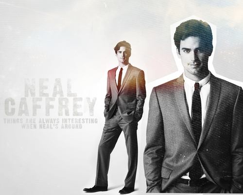 White Collar wallpaper entitled Neal Caffrey