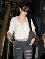 New Photos of KStew leaving NYC - twilight-series photo