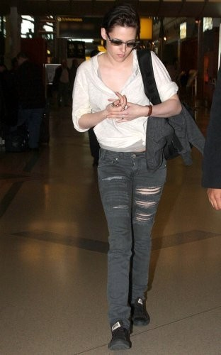 New Photos of KStew leaving NYC