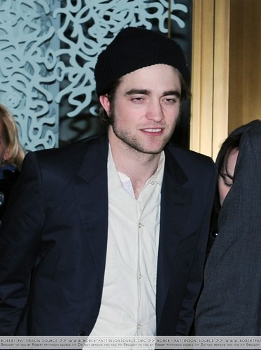 New 'Remember Me' After Party Photos...Robert is tipsy