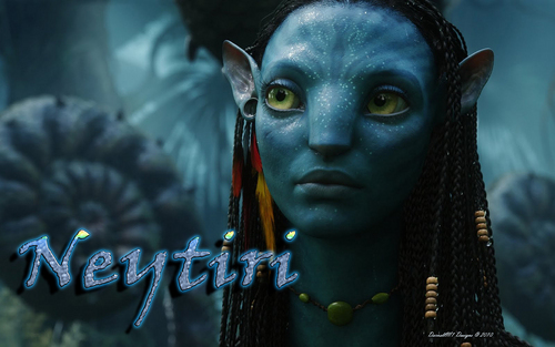 Avatar wallpaper titled Neytiri Wallpaper