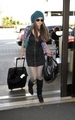Nina leaving LAX (Feb 15)