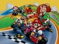 Old School Mario Kart