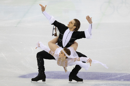 Otar Japaridze and Allison Reed (Georgia) - the-olympics Photo