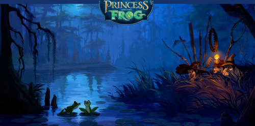 The Princess and the Frog wallpaper titled PATF Concept Art