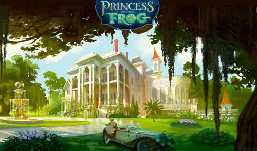 The Princess and the Frog wallpaper called PATF Concept Art