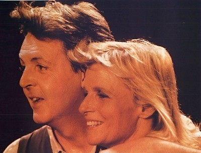 Paul McCartney 바탕화면 titled Paul & Linda