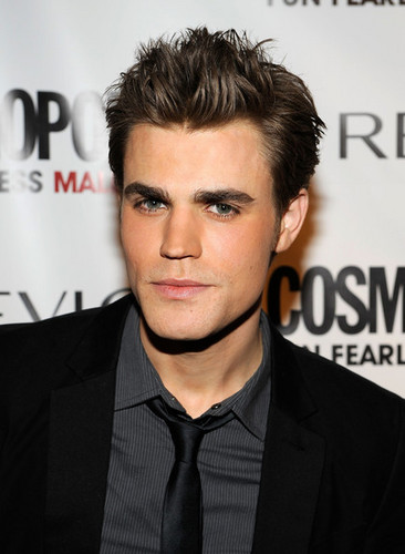 Paul Wesley Cosmo party