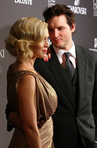 Peter and Jennie also at 2010 Costume Designers Guild Awards