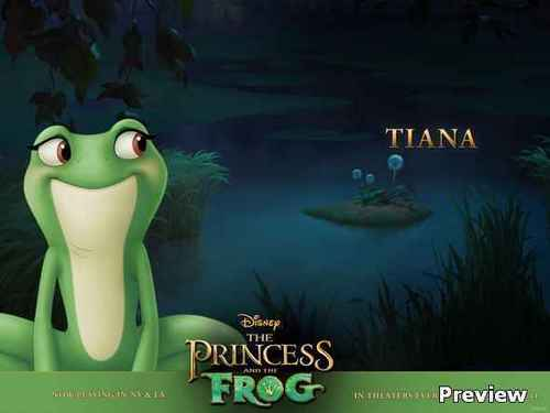 The Princess and the Frog 바탕화면 entitled Princess and the Frog 바탕화면