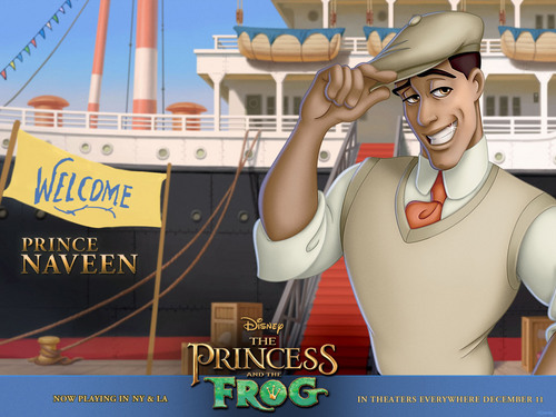 Princess and the Frog 壁纸