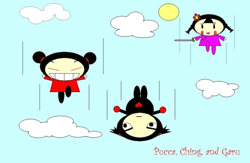 Pucca and دوستوں
