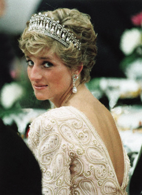 Princess Diana achtergrond called Queen of Hearts